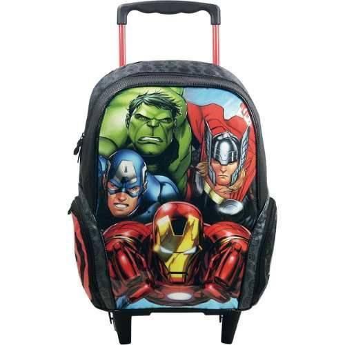 Mochila 16 Avengers com Rodas 7090
