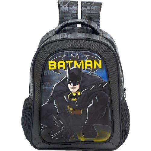 Mochila 16 Batman Dark Light - 7582 - Artigo Escolar