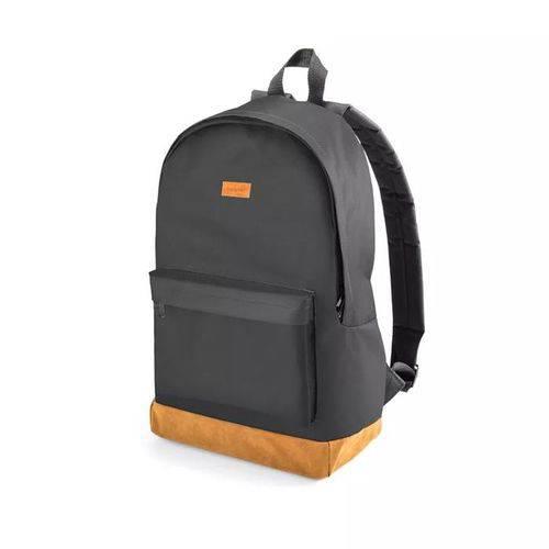 Mochila Backpack Preta e Marrom Multilaser
