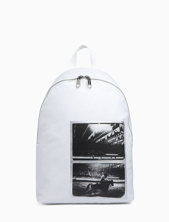 Mochila CKJ Foil Andy Warhol Rodeo - Branco 2 - U