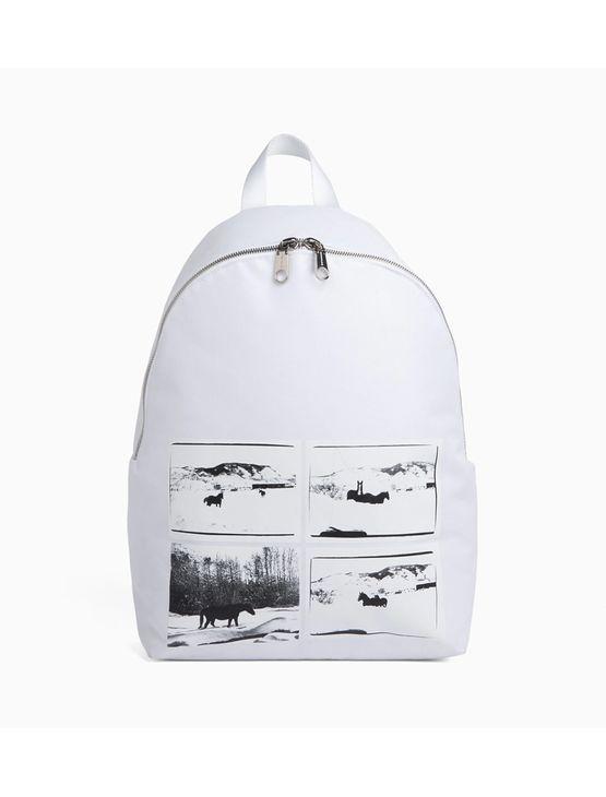Mochila Ckj Horse Andy Warhol Landscape - Branca - U