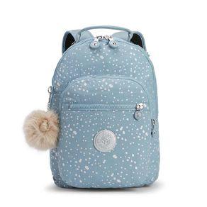 Mochila Clas Seoul S Azul Silver Sky Kipling