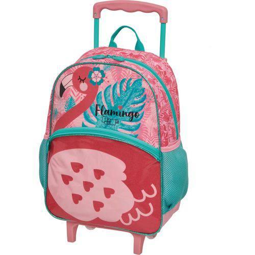 Mochila de Carrinho Pack me Flamingo Grande 3 Bolsos Pacific