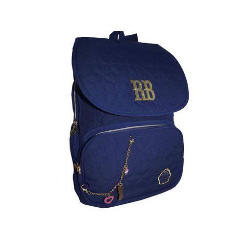 Mochila de Costas Rebecca Bonbon Cupcake Clio Style Azul RB8174