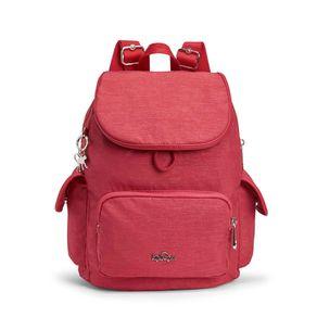Mochila de Passeio City Pack S Vermelha Spark Red Kipling