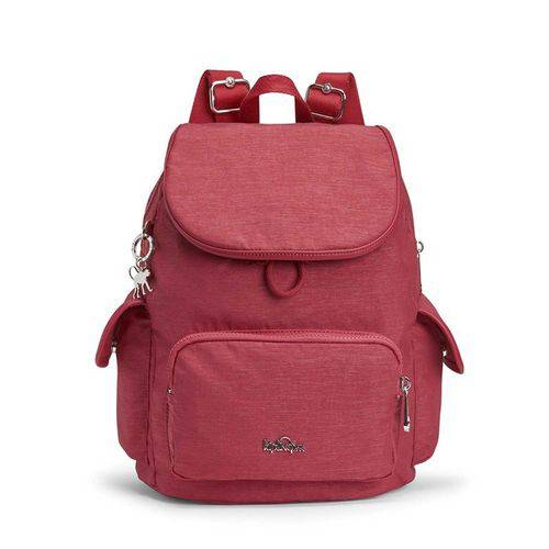 Mochila de Passeio Kipling City Pack S Vermelha Spark Red K0008530C