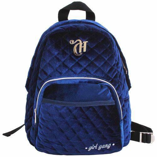 Mochila Escolar Capricho Girl Gang Azul Dermiwil 11315