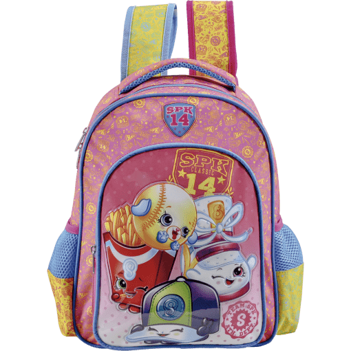Mochila Escolar 3D Shopkins Spk Squad 6822