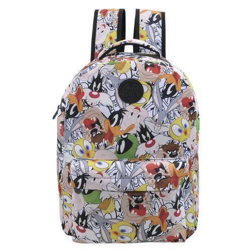 Mochila Escolar Infantil Looney Tunes Teen Estampada 03 Xeryus