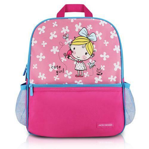 Mochila Escolar Pink Jacki Design