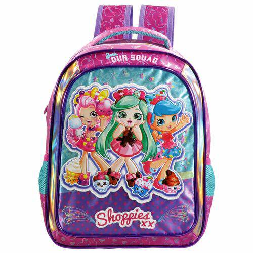 Mochila Escolar Shopkins Shoppies Xeryus 6842