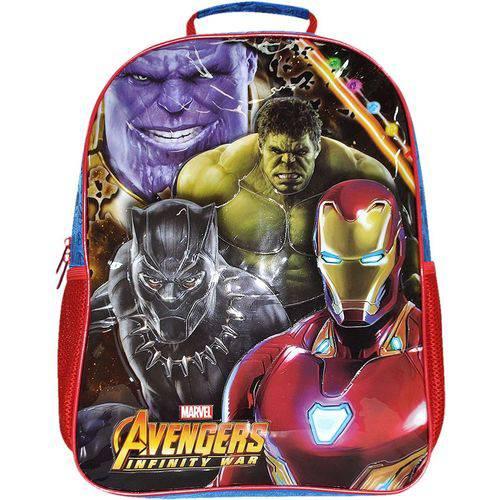 Mochila Escolar The Avengers E.c Grande Xeryus