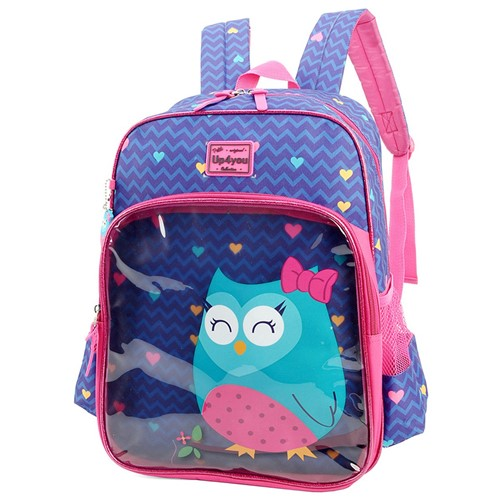 Mochila Escolar Up4You Stripes Infantil IS33101UP-RX IS33101UPRX