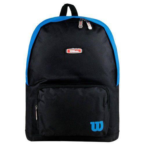 Mochila Esp IX13551A Preta/Azul - Wilson