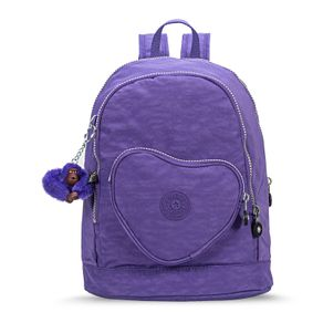 Mochila Heart Backpack Roxa Purple Grape Kipling