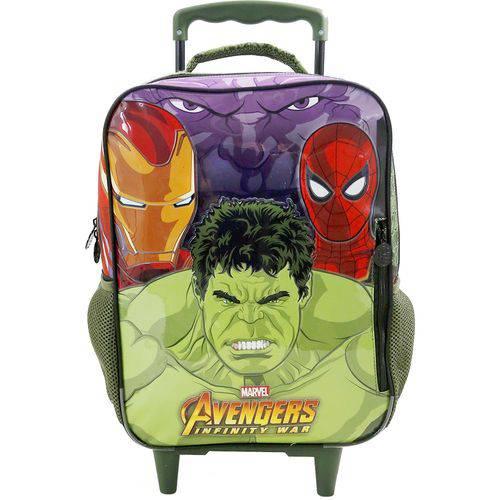 Mochila Infantil Avengers de Rodinha Grande - Ref: 7480 - Xeryus