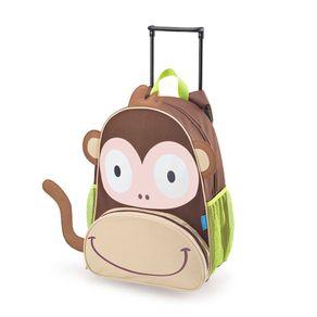 Mochila Infantil com Rodinhas Macaco Multikids Baby - BB276 BB276