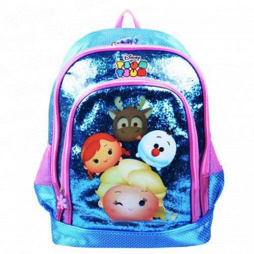 Mochila Infantil Tsum Tsum Disney Frozen 16 - Luxcel
