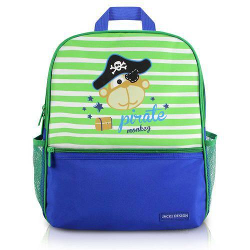 Mochila Jacki Design Escolar Azul