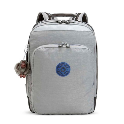 Mochila Kipling College Up Kind Grey C-Único