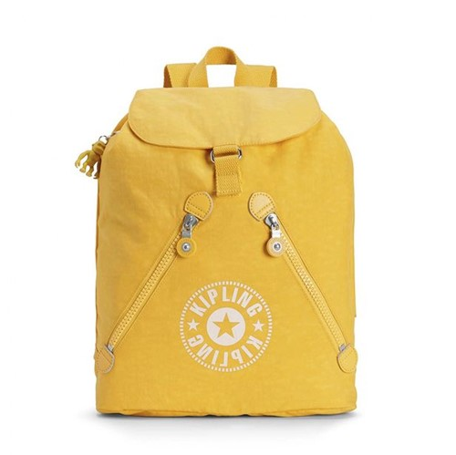 Mochila Kipling Fundamental Lively Yellow-Único