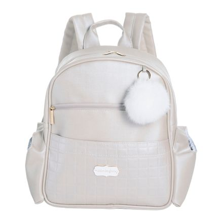 Mochila Lu Bunny - Pérola - Masterbag