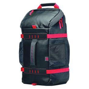 """Mochila P/ Notebook 15,6"""" HP X0R83AA Preta com Vermelho"""