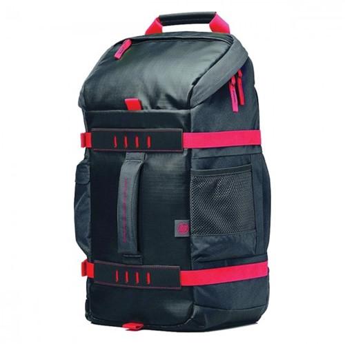 "Mochila para Notebook HP 15,6"" X0R83AA Preta/Vermelho"