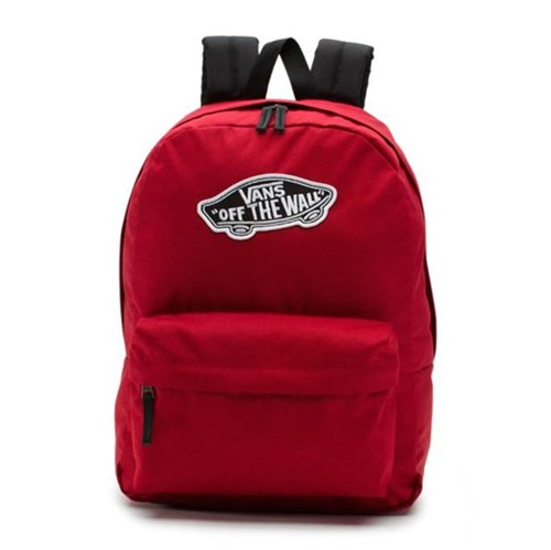Mochila Vans WM Realm Backpack Biking Red-Único