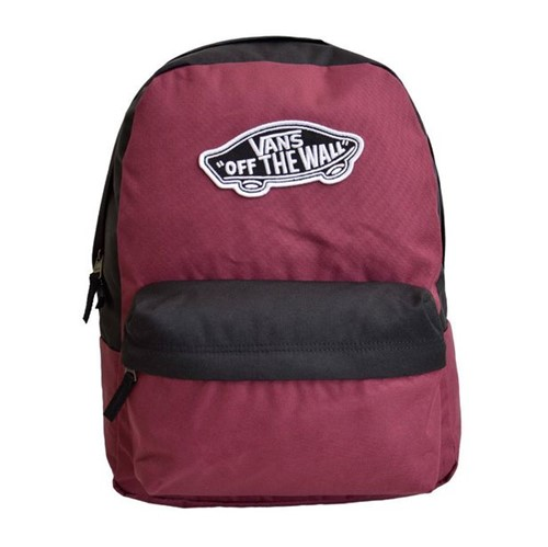Mochila Vans WM Realm Backpack Prune Black-Único
