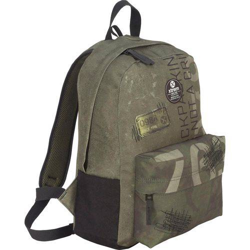 Mochila Xtrem Bondy 810 Backpack Green Patches