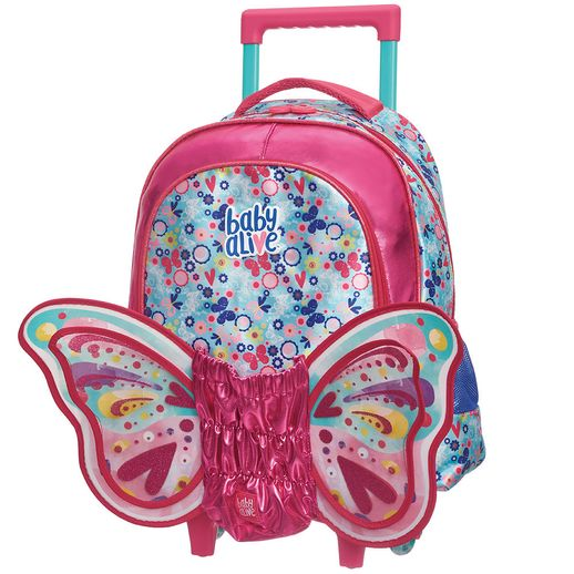 Mochilete M Baby Alive Butterfly - Pacific
