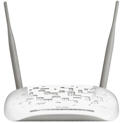 Modem Roteador Wireless 300Mbps + Splitter ADSL2 TD-W8961ND - TP-Link