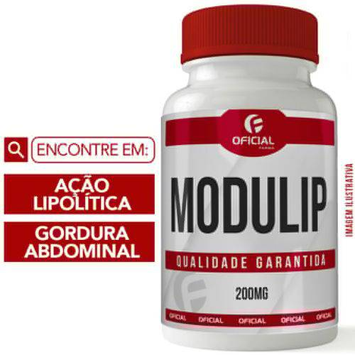Modulip Gc® 200mg 30 Cápsulas - Of