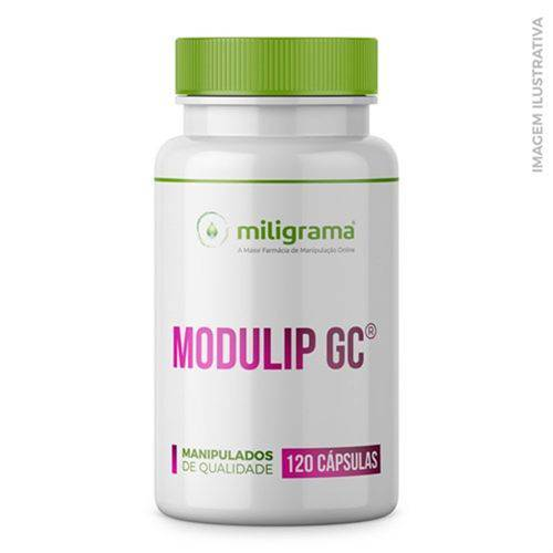 Modulip GC® Oral 200mg 120 Cápsulas