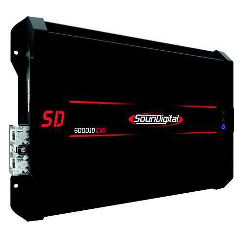 Módulo Amplificador Digital Soundigital Sd5000.1d Evo Ii Black - 1 Canal - 6530 Watts Rms - 1 Ohm Descrição Completa