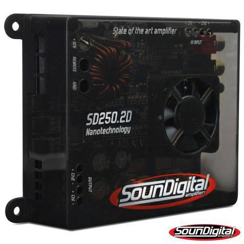 Módulo Amplificador Soundigital Sd 250.2 250w Rms