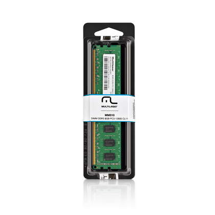 Módulo de Memória Multilaser Dimm DDR3 8GB Pc3-12800 - MM810 MM810