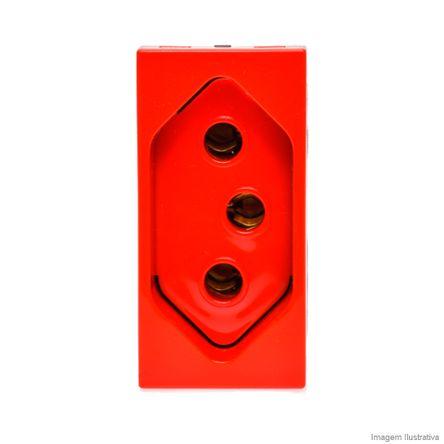 Módulo Tomada Arteor 2Pt 10A Vermelho 593730 Pial
