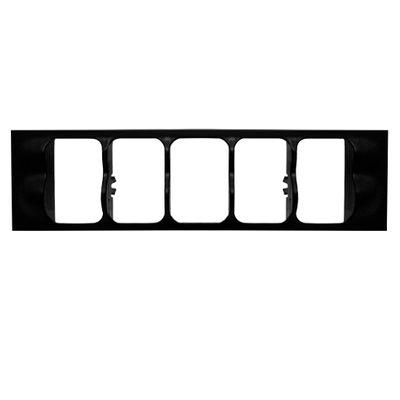 Moldura Grade Central dos Botões do Painel Gol Parati Saveiro G2 Bola 1995 a 1999 Special 2000 a 2003
