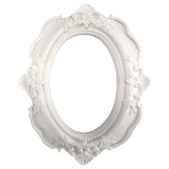 Moldura Oval Madri 12x9,5cm - Resina