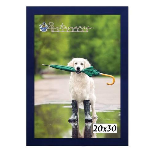 Moldura Porta Retrato 20X30 Azul