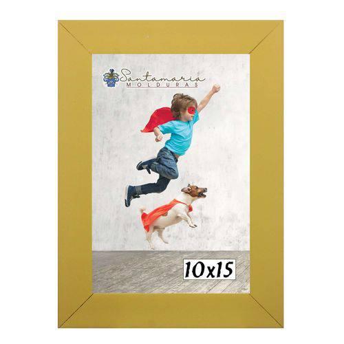 Moldura Porta Retrato 10x15 Amarelo