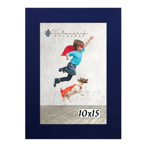 Moldura Porta Retrato 10X15 Azul