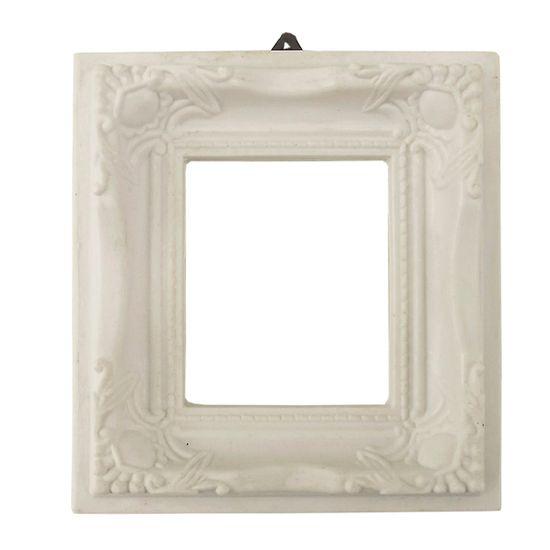 Moldura Quadrada com Borda Cantoneira 10,5x10,5 - Resina