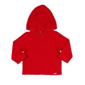 Moletom Fechado Rovitex Infantil para Menino - Vermelho 4