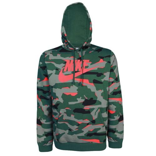 Moletom Nike Masculino Club Hoodle Camuflado AR2867-323 AR2867323