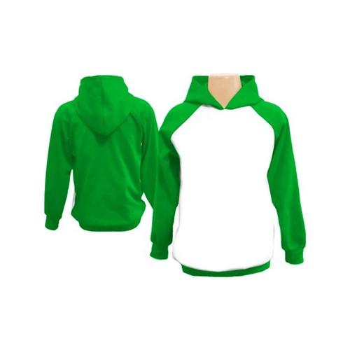 Moletom Raglan Infantil - Verde 2 - Verde