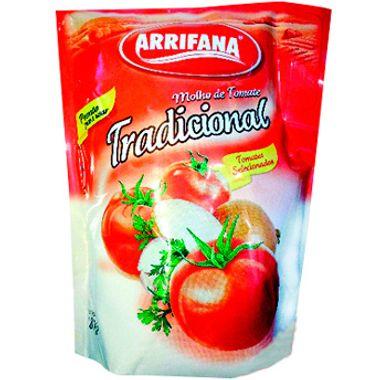 Molho de Tomate Tradicional Arrifana 1,8kg