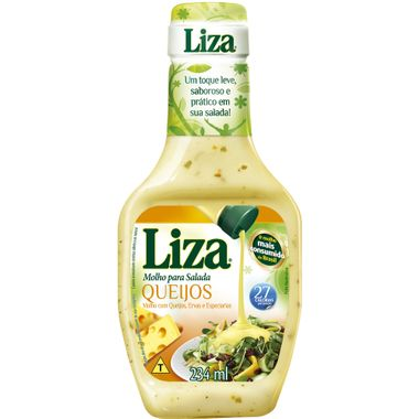 Molho para Salada Queijo Liza 234ml